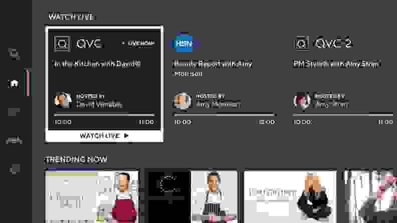 qvc streaming app on TV