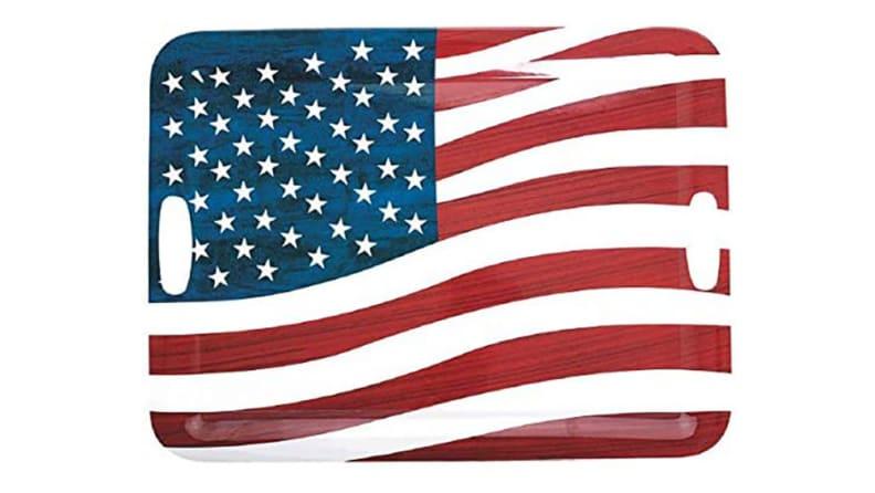 American Flag Tray