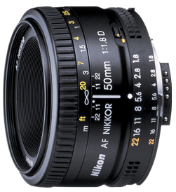 Product Image - Nikon AF Nikkor 50mm f/1.8D