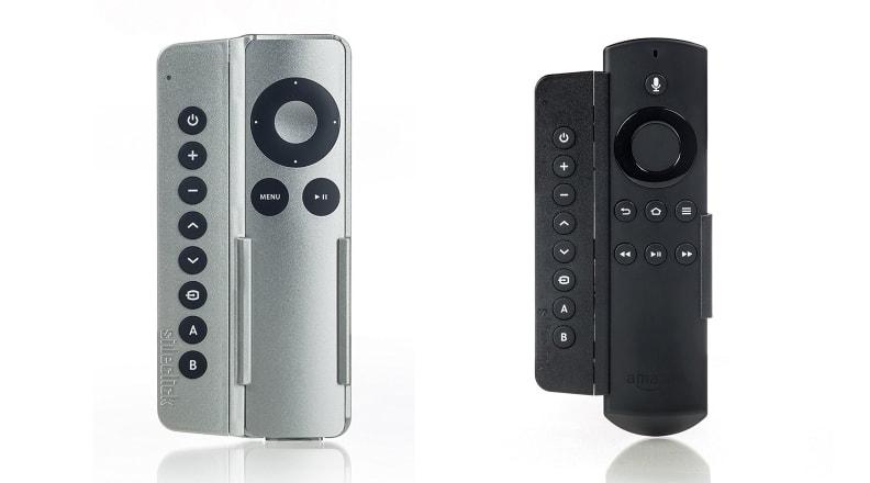 Sideclick remote attachment
