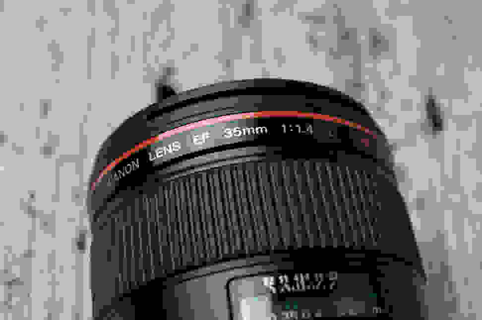 Canon 35mm f/1.4 Ring