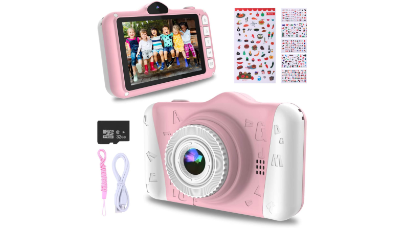 A digital camera is great for documenting creative projects.