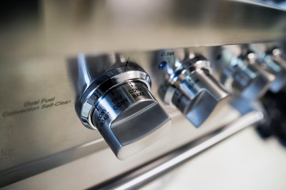 Viking VDSC5304BSS oven control knob