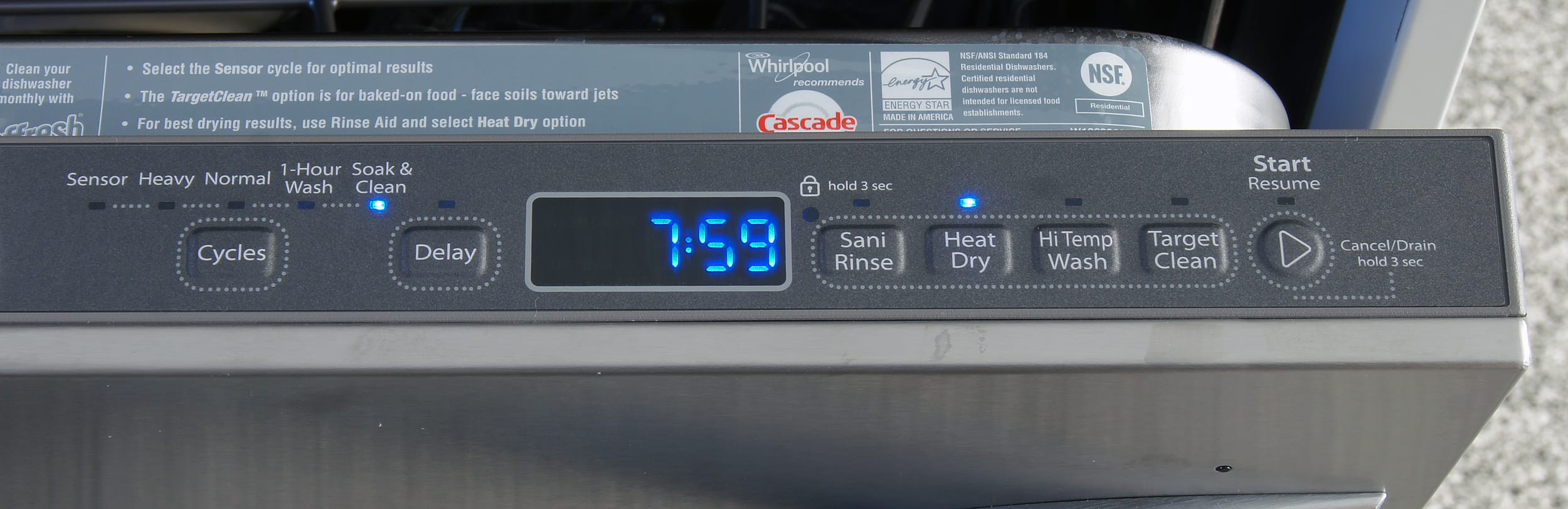 Whirlpool Gold Wdt920sadm Dishwasher Review Reviewed