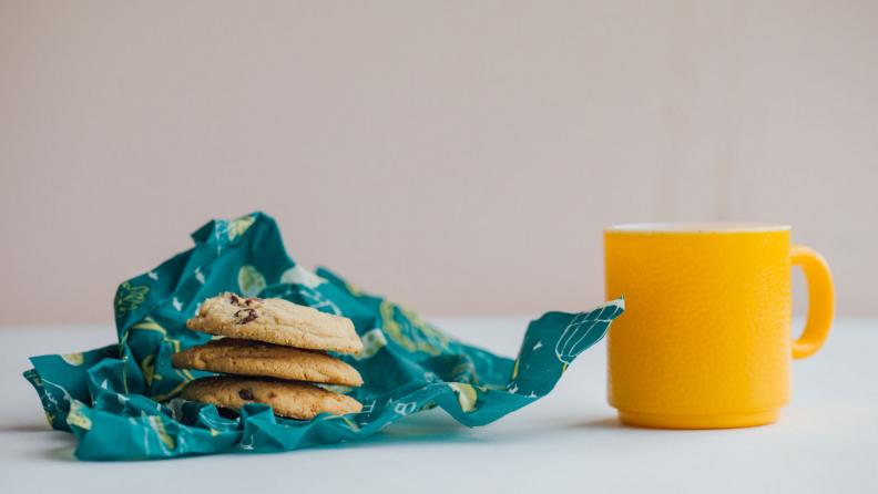 Bee's wrap cookies