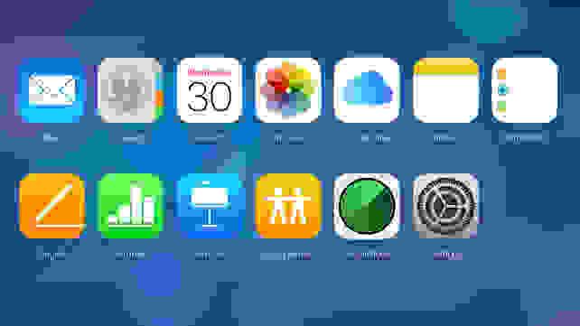 Apple iCloud Interface