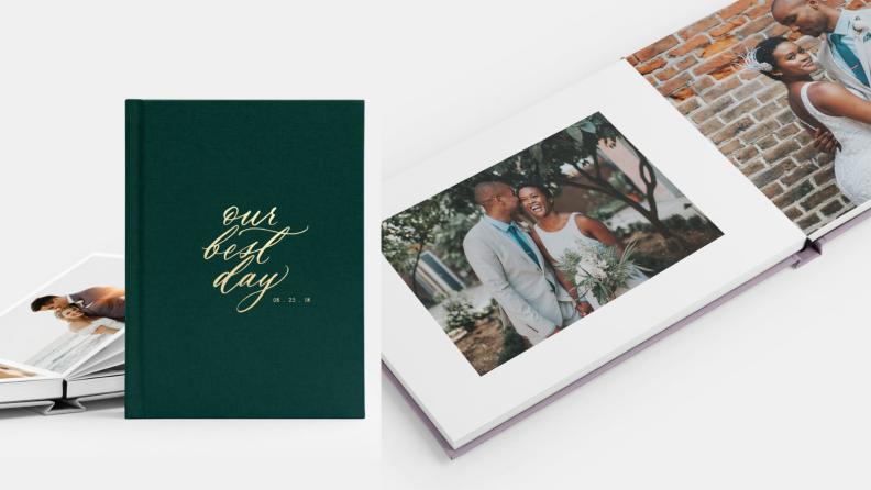 Best wedding gifts: Artifact Uprising wedding album