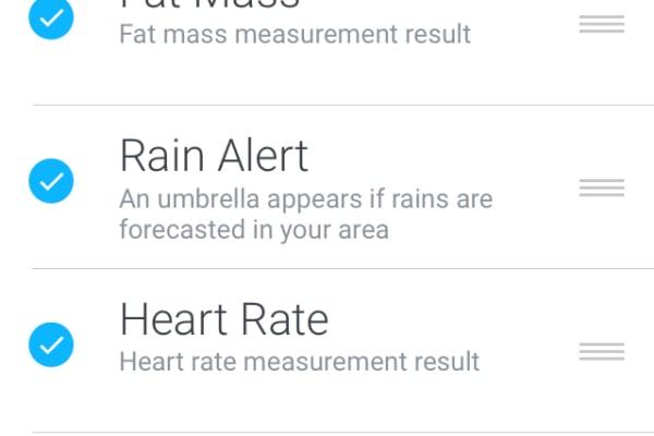 Smart Body Analyzer Screen Customizations