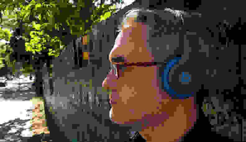 Beats Solo2 Wireless Headphones in Profile