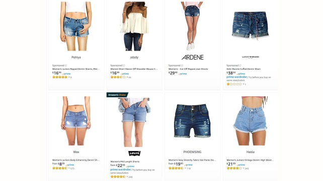 Amazon Search Results for Women's Shorts