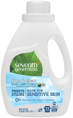 Product Image - Seventh Generation Free & Clear Laundry Detergent