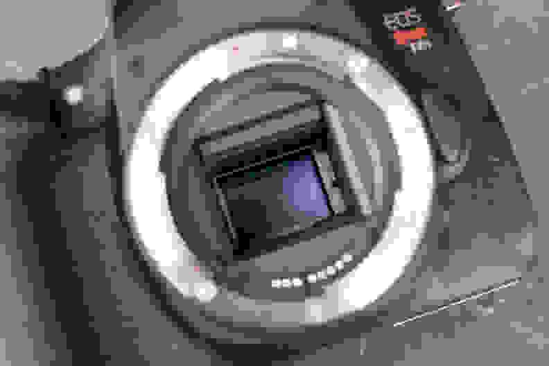 Canon Rebel T6s Mirror