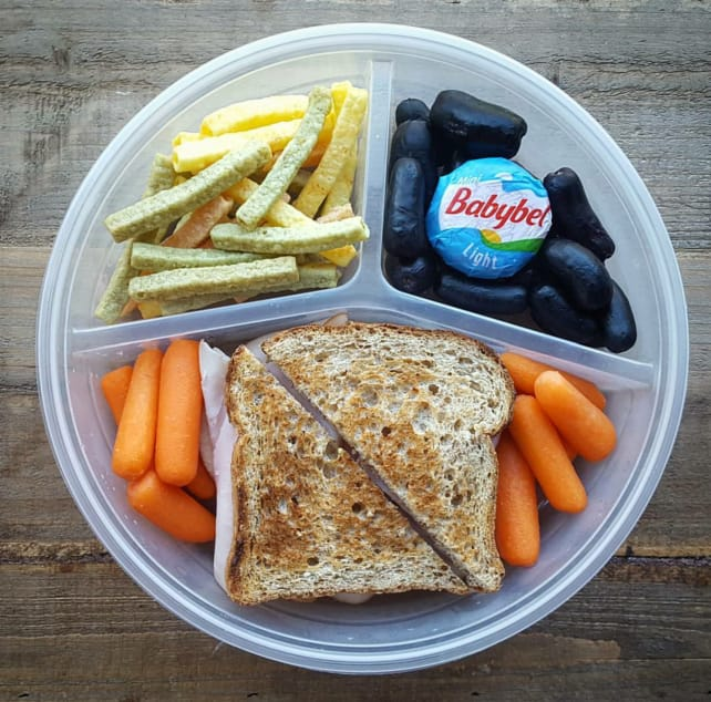 A packed lunch