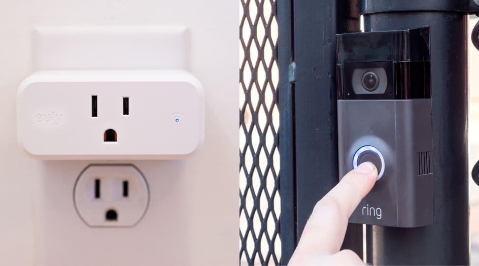 Eufy Smart Plug Mini and Ring Video Pro 2
