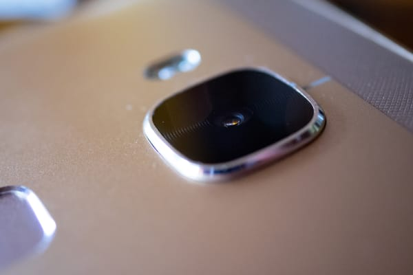 The Huawei GX8's primary camera