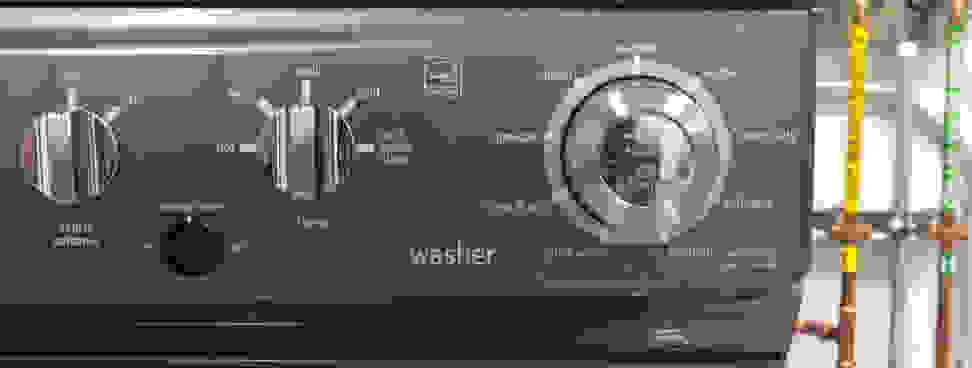 Washer Controls