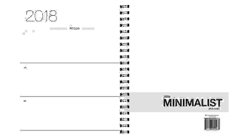 2018 Minimalist Planner