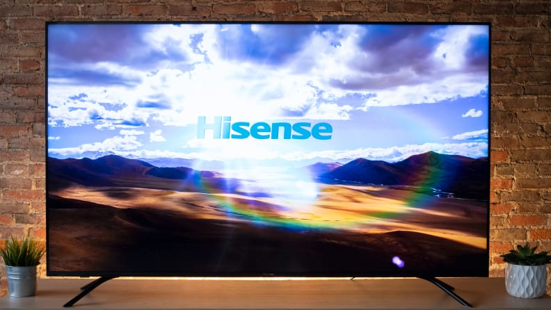 Hisense H8F with 4K Content 1