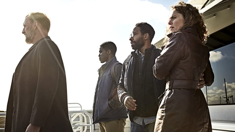 A still from 'The Leftovers' of most of the principal cast.