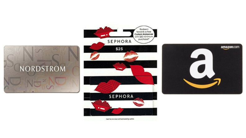 Best engagement gifts: Gift card