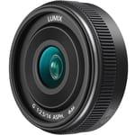Panasonic lumix g 14mm f:2.5 asph ii lens h h014ak