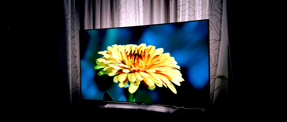 An LG OLED TV