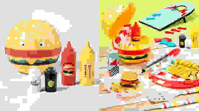Hamburger Caddy