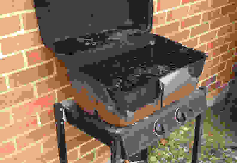 rusty cheap grill