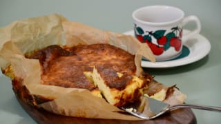 Here's how to make Basque burnt cheesecake