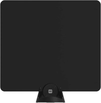 Product Image - Monoprice Large Paper Thin HDTV Antenna, 35 Mile Range