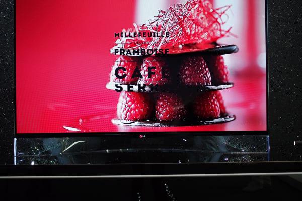 LG's other Swarovski OLED TV