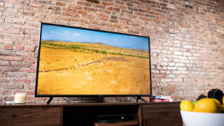 The Vizio V-Series (2021/2022) displaying 4K content in a living room setting