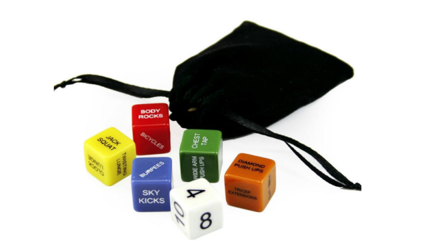 Best health and fitness gifts 2018 fitness dice