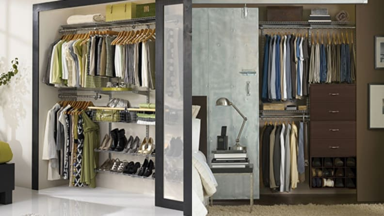 Rubbermaid configuration closet