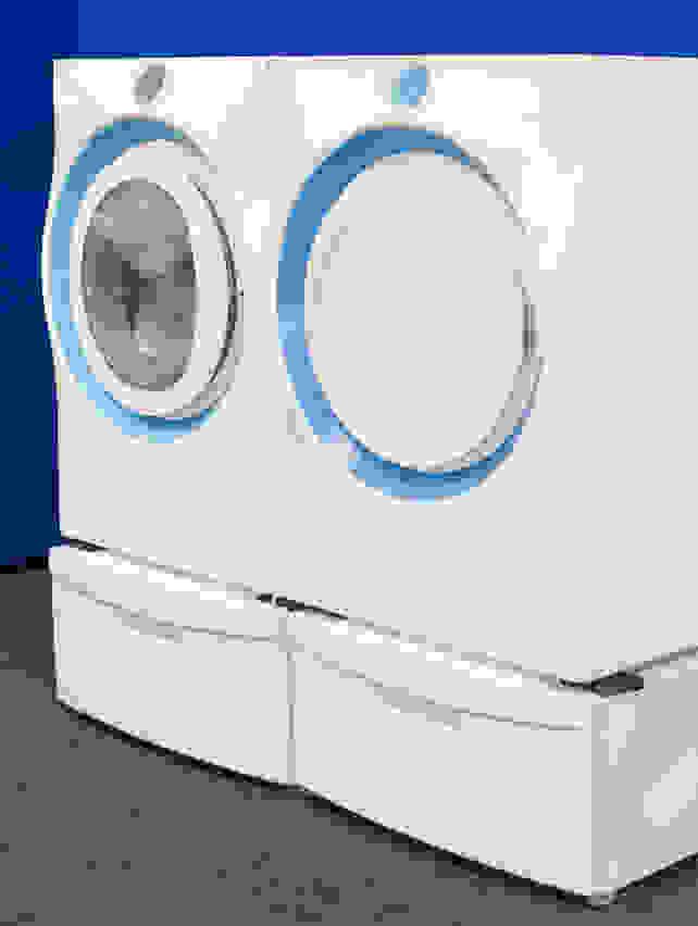 Xeros prototype washing machine