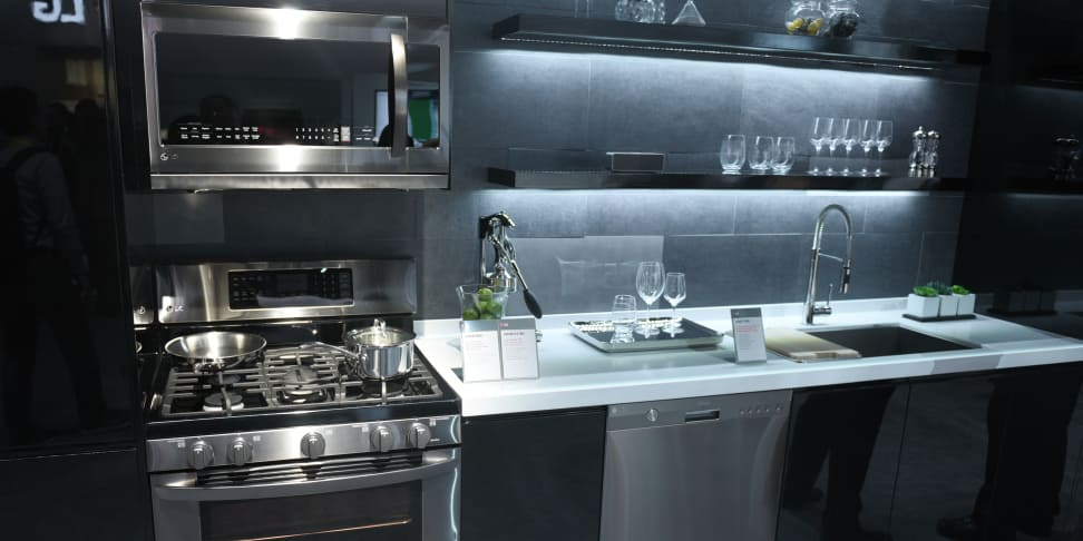 Kitchen Pictures With Lg Black Diamond Appliances