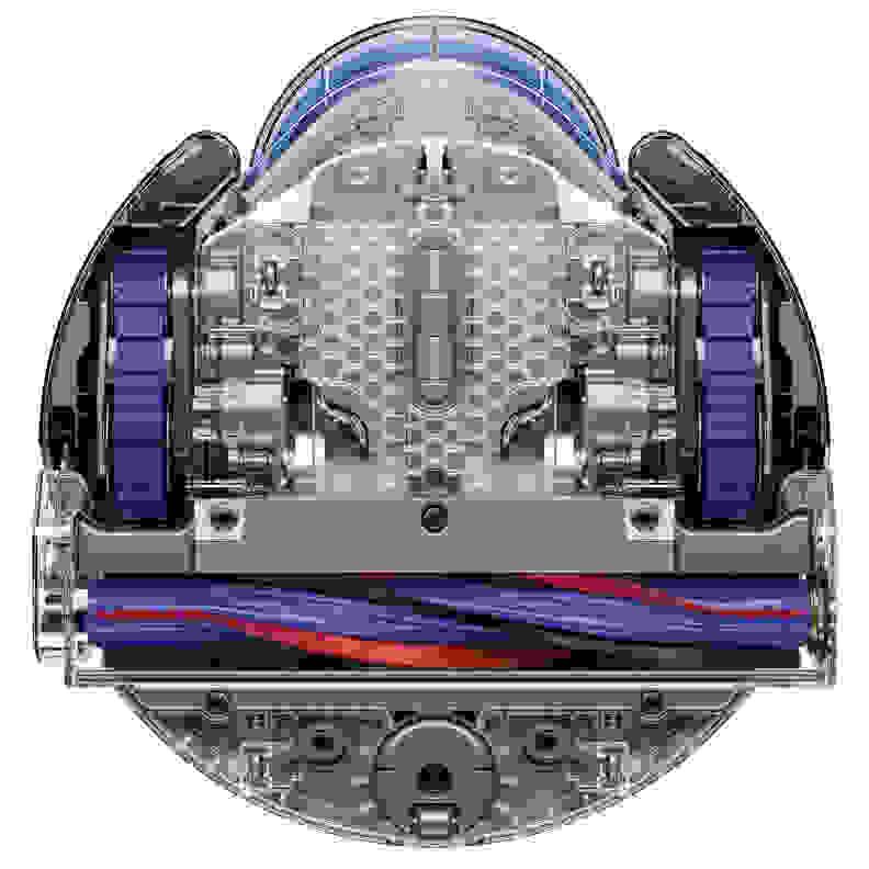 Dyson 360 Eye underside
