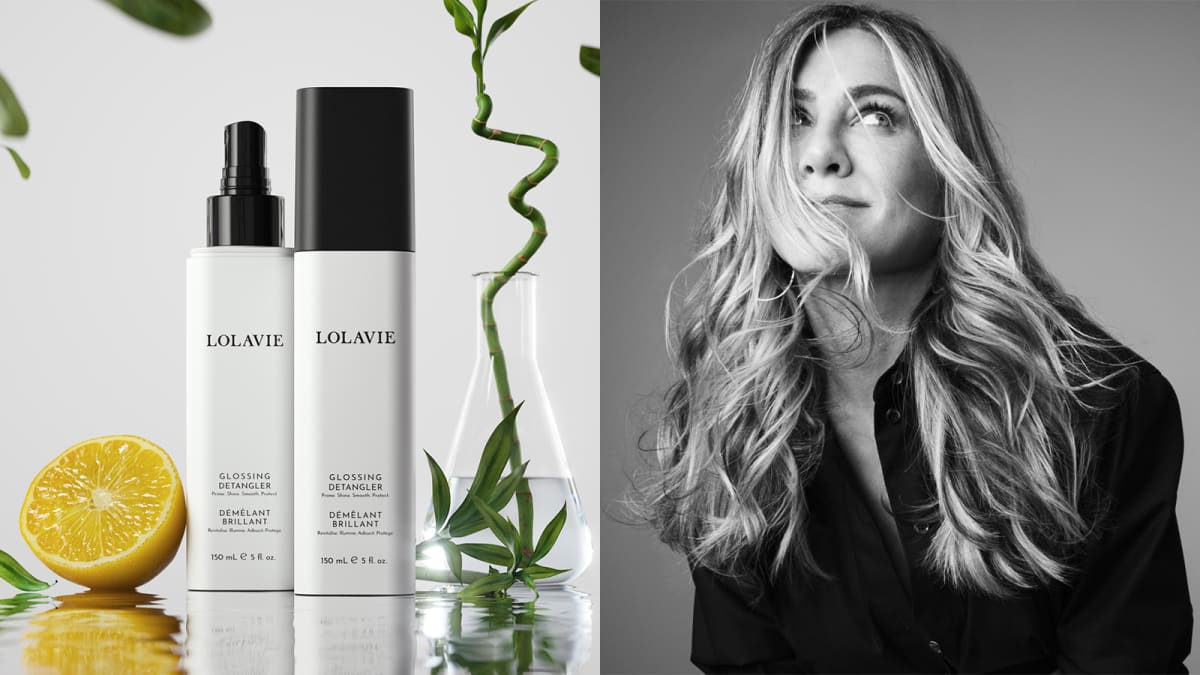Jennifer Aniston launched a hair brand—and its first product is amazing