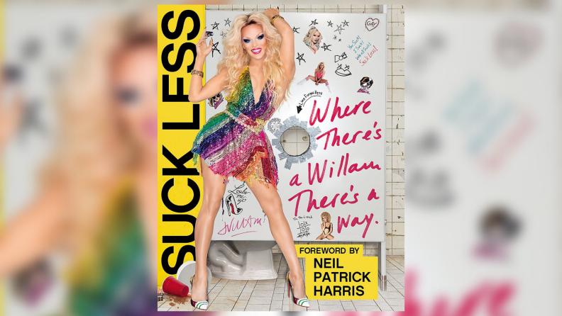 The cover art of Willam Belli's Suck Less memoir.
