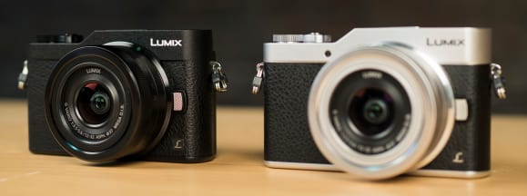 Lumix gx850 black white