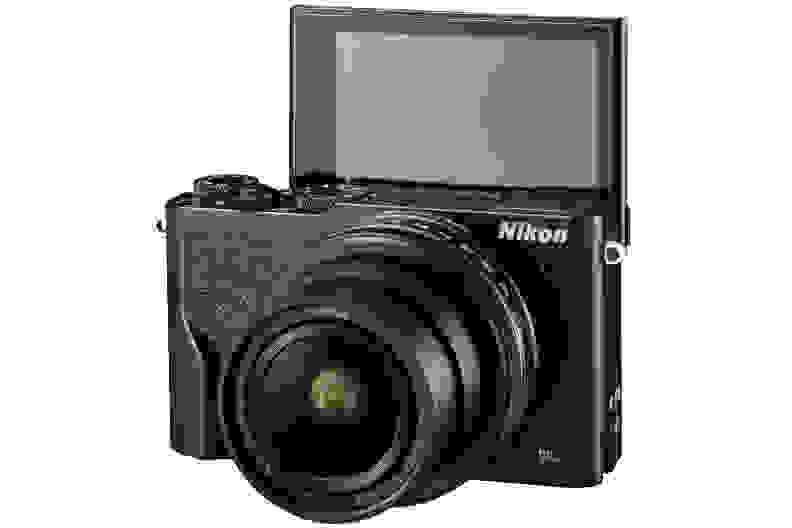A manufacturer render of the Nikon DL18-50.