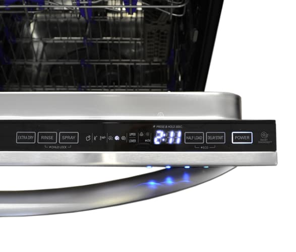 Lg Ldf8072st 24 In Built In Stainless Steel Dishwasher
