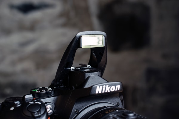 The built-in flash is nothing ground breaking, but it gets the job done.