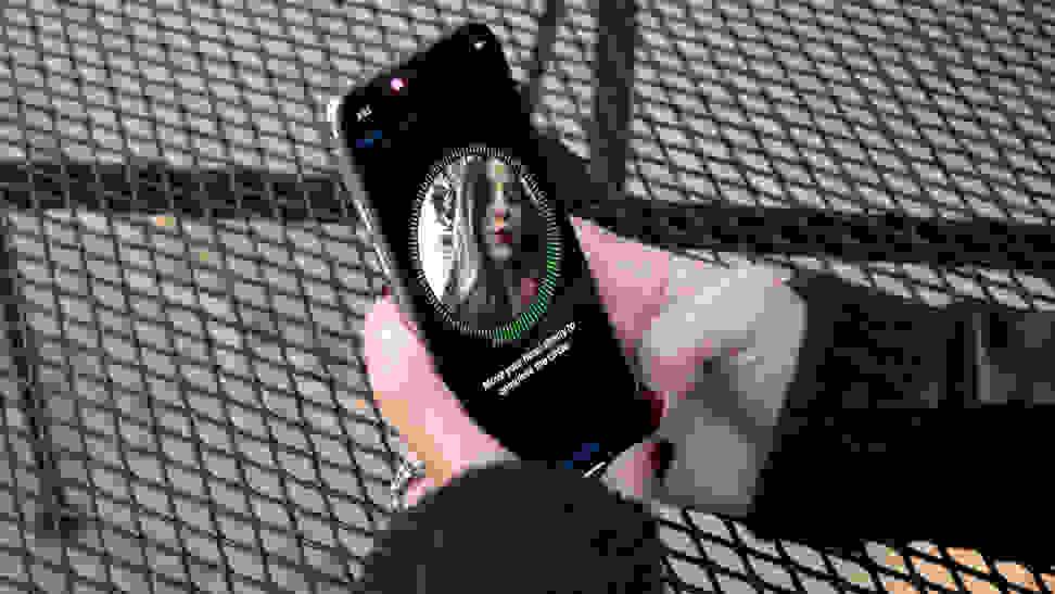 Apple iPhone X Face ID Setup