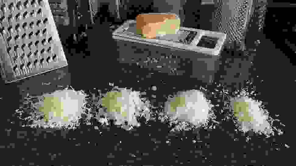 Testing parmesan