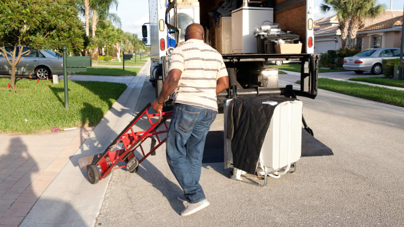 Appliance-delivery