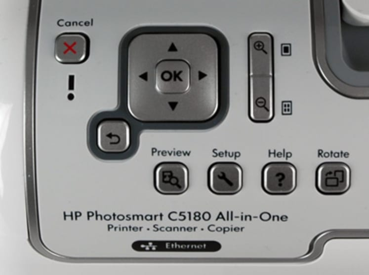 HP Photosmart C5180 All-in-One Photo Printer Review