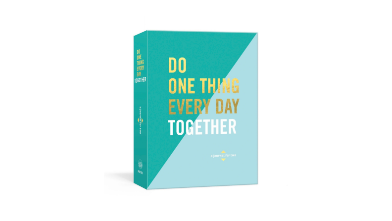 Best engagement gifts: Journal for two