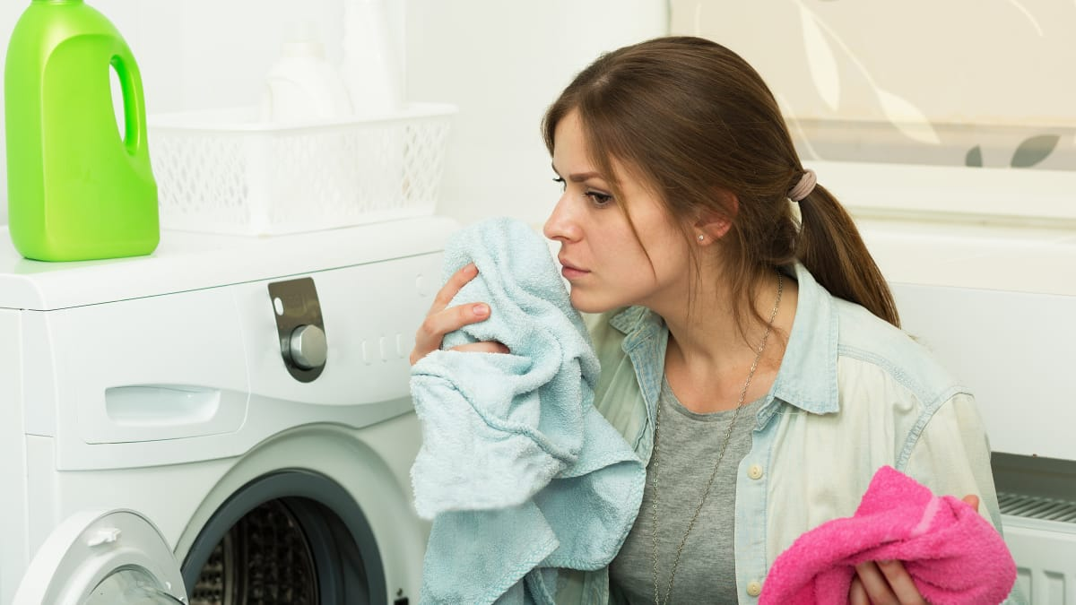 Why your washing machine smells—and how to clean it
