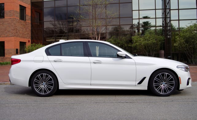 BMW 530i Side View